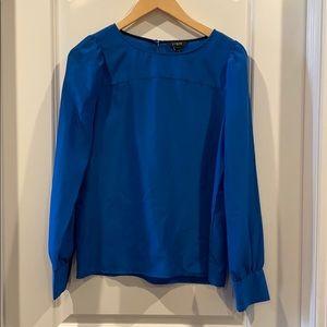 J Crew smock blouse career wardrobe